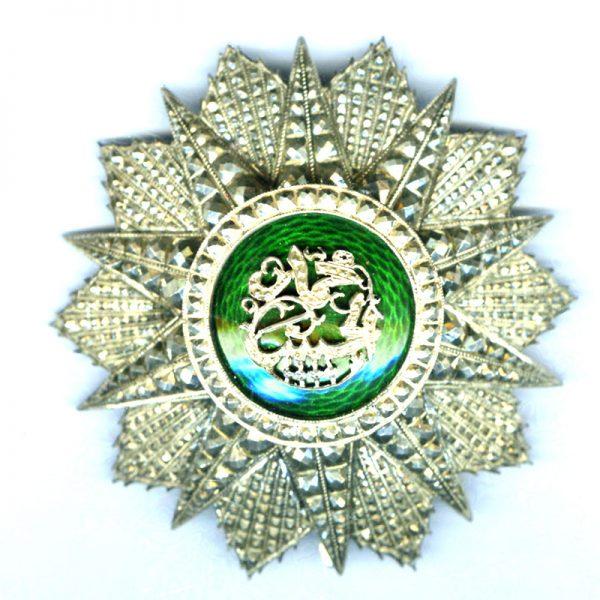 Order of Nichan Iftikhar   breast star Mohammed El Habib 1922-1929 1