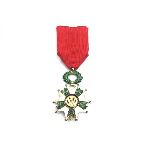 Legion D'Honneur 1870-1951 Officer with gold centre some repairs otherwise 	(L25956)  V.F... 2