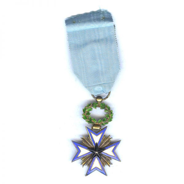 Order of the Black Star of Benin Officer  fine quality in silver... 2