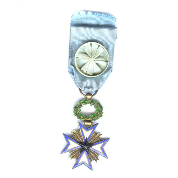 Order of the Black Star of Benin Officer  fine quality in silver... 1