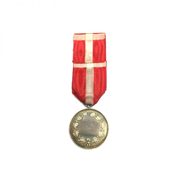 Medal of Recompense Christian  X  silver(L26395)  N.E.F. £85 2