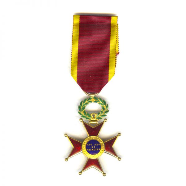Order of  St. Gregory Officer  in gold 2