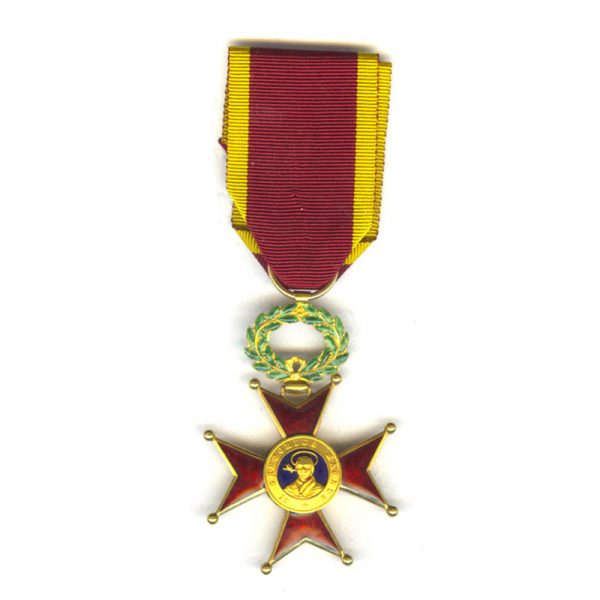 Order of  St. Gregory Officer  in gold 1
