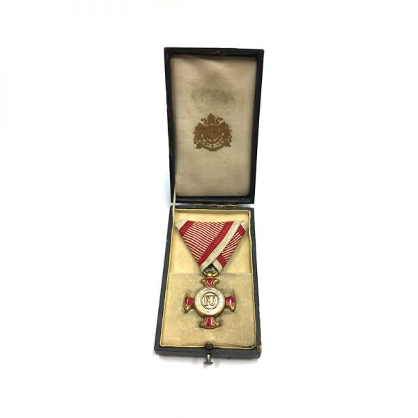 Golden Merit Cross 1849 small  type bronze gilt 5