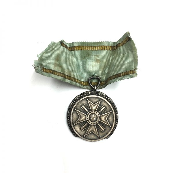 Order of the Three Stars merit medal silver in fitted embossed  case 2