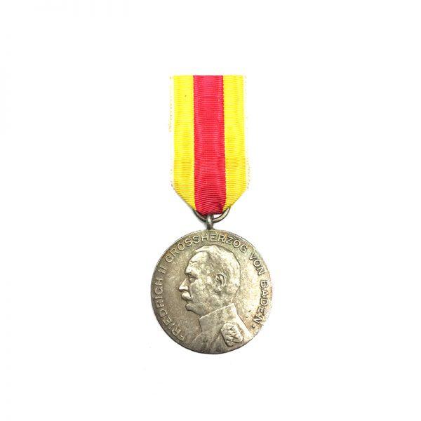 Civil Merit medal Freidrich II silver 1