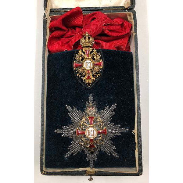 Order of Franz Joseph Grand Cross breast star 1