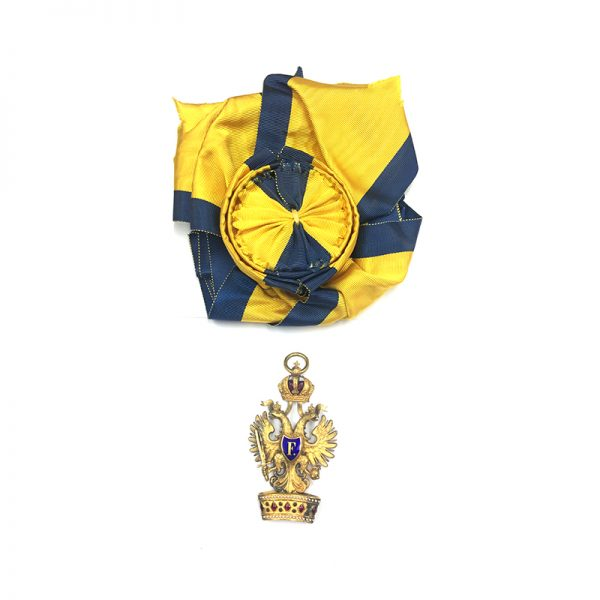 Order of the Iron Crown Grand Cross sash badge superb quality and... 1