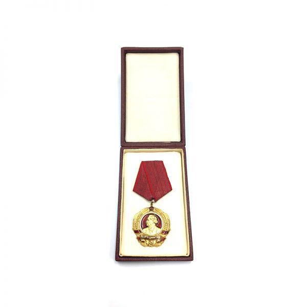 Order of Georgi Dimitrov 3rd issue type in 14K gold 1970  in... 5