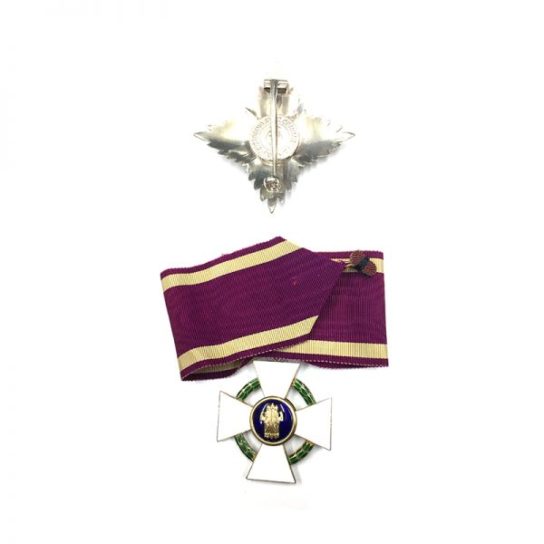 Order of the Roman Eagle Grand Officer neck badge and breast star 2