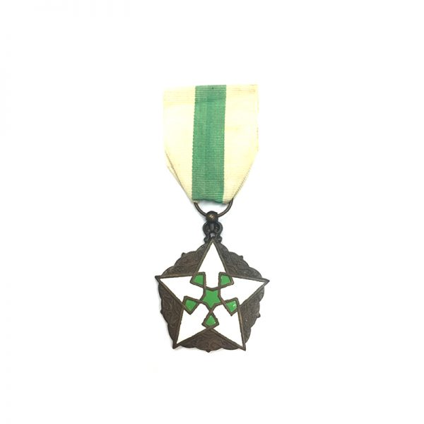 Order of Civil Merit knight bronze and enamels 1