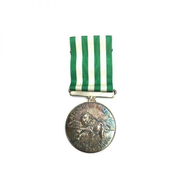 Republic Silver Bravery Medal 1