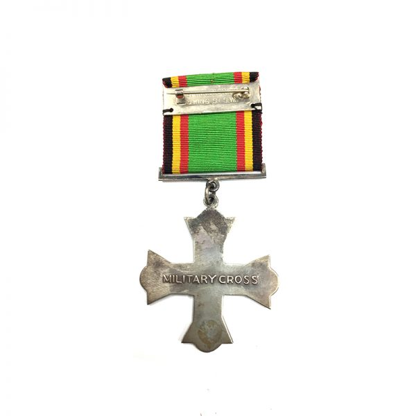 Military Cross ( Idi Amin issued) silver by Spink 2