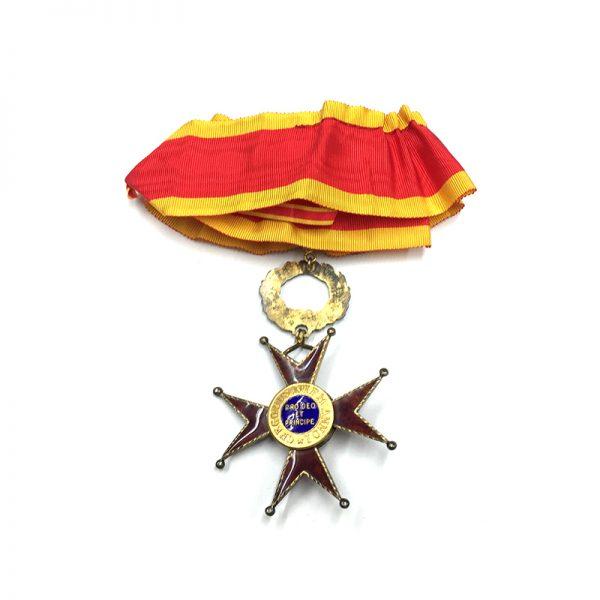 Order of  St. Gregory Commander neck badge 2