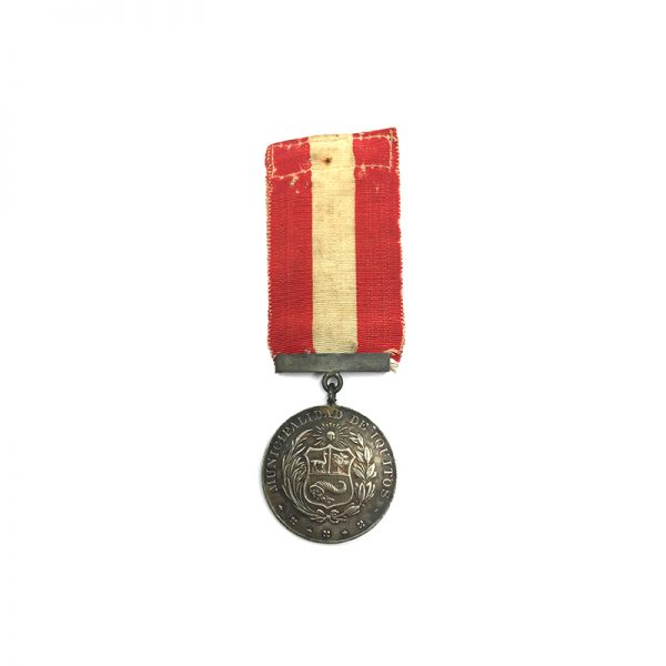 Medal of Merit 1st Class City of Iquitos 1