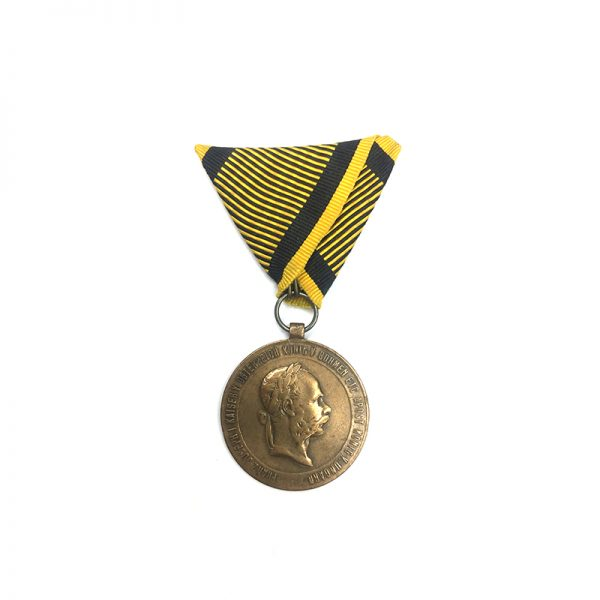 Campaign Medal 1873 gilt awarded for China 1900 Campaign 1