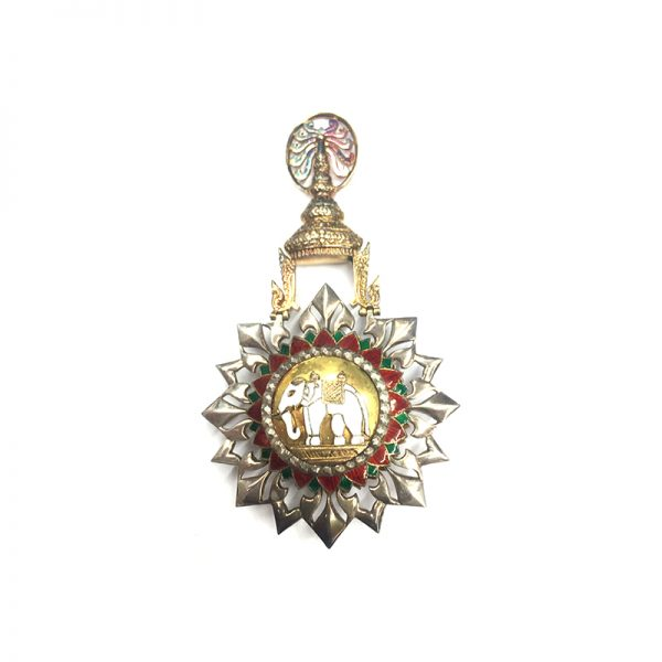 Order of the White Elephant 2nd type Grand Cross sash badge 1