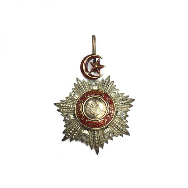 Order of the Medjidie Commander  neck badge 1