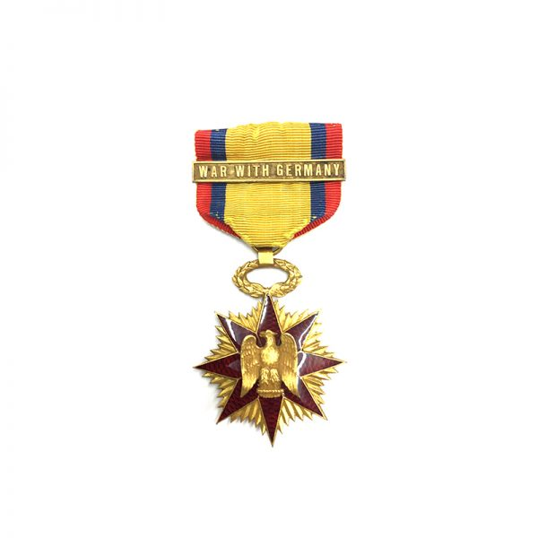 Military Order of Foreign Wars in gold 1