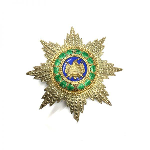 Order Scanderbeg Grand Cross breast star, 1