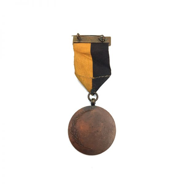 Black and Tan medal  with top bar. 2