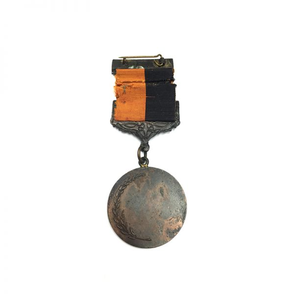 Black and Tan medal  with Comrac suspension, 2