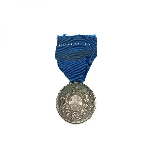 Al Valore Militare Guerre d'Italie Crimea silver 1