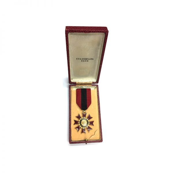 Order of Merit Congolais Knight excellent quality in case by Chobillon Paris 5