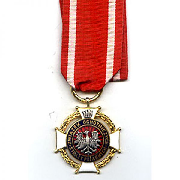Fire Brigade Cross of Merit for Volunteer Fire Fighters (W.172) 1