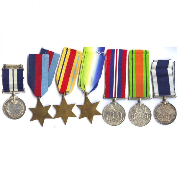Distinguished Service Medal (GVI) 2