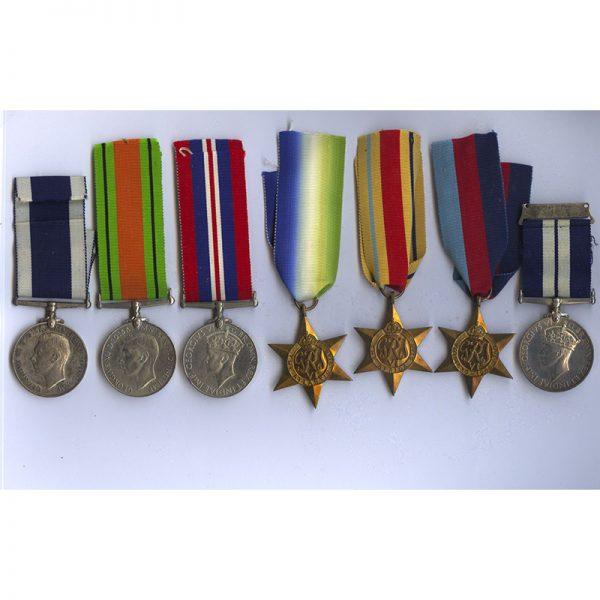 Distinguished Service Medal (GVI) 1