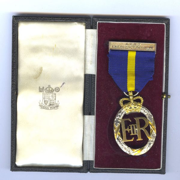 Army Emergency Reserve Decoration 1