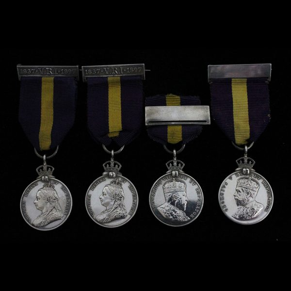 Group of 4 Warrant Holders Medals to the Kirkland Brothers 1