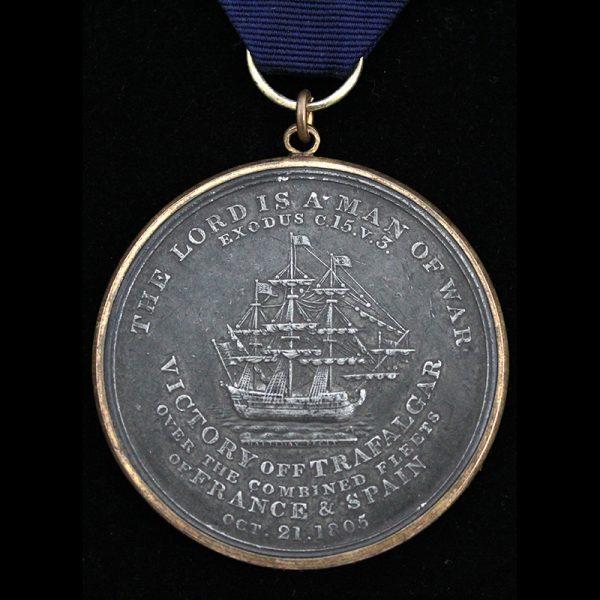 Davison's Trafalgar Medal 1805 3