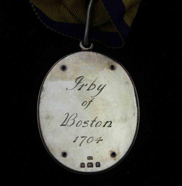 Baronet's Badge Baron Boston of Irby 1704 3