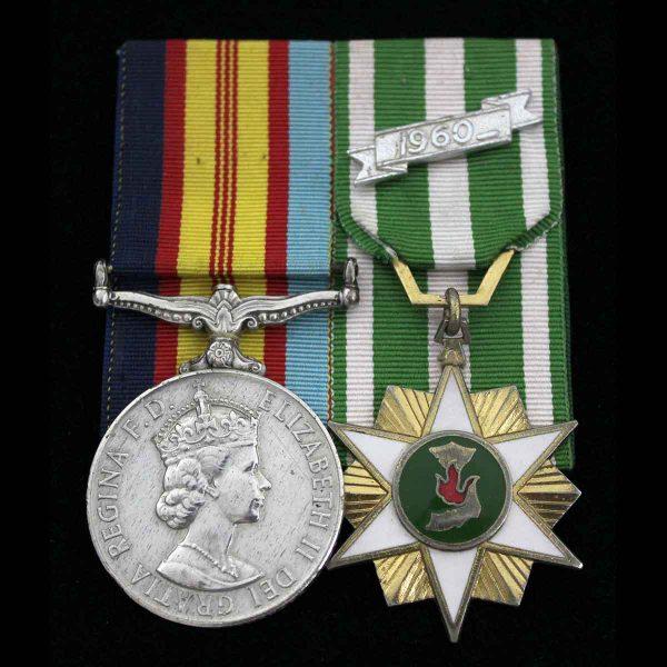 Vietnam Pair RNZIR Wounded Maori Descent 2
