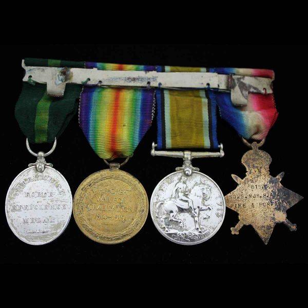 WW1 Trio TFEM Fife Forfar Yeomanry 2