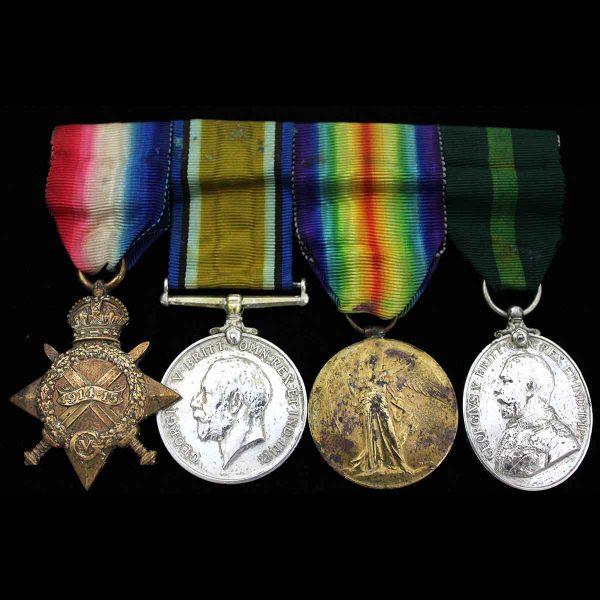 WW1 Trio TFEM Fife Forfar Yeomanry 1