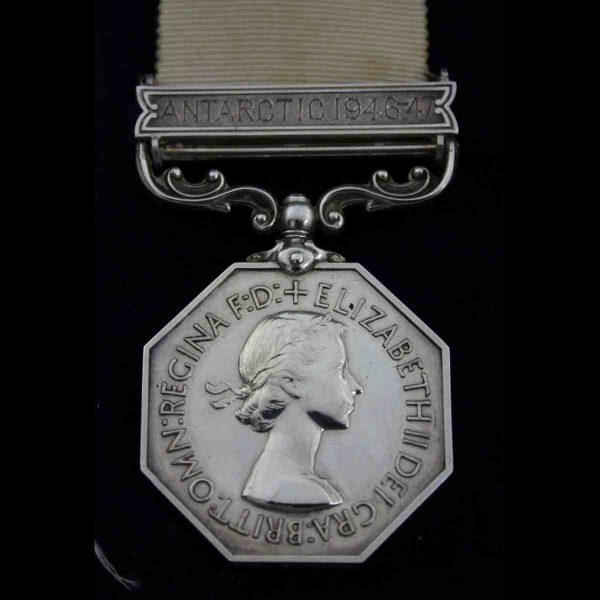 Polar Medal Antarctic 1946-47 Lt Col Base Leader 2
