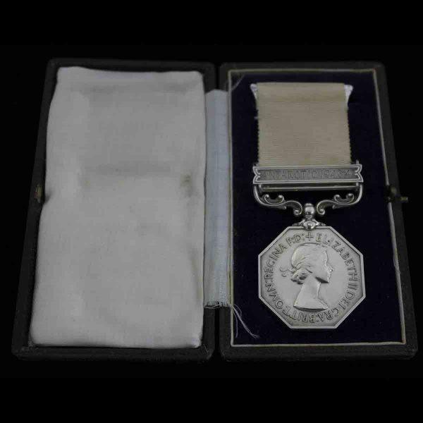 Polar Medal Antarctic 1946-47 Lt Col Base Leader 1