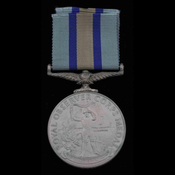 Royal Observer Corps Medal Doreen Parker 10 Group 2