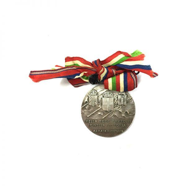 Armata Altipiani Medal 1918 2