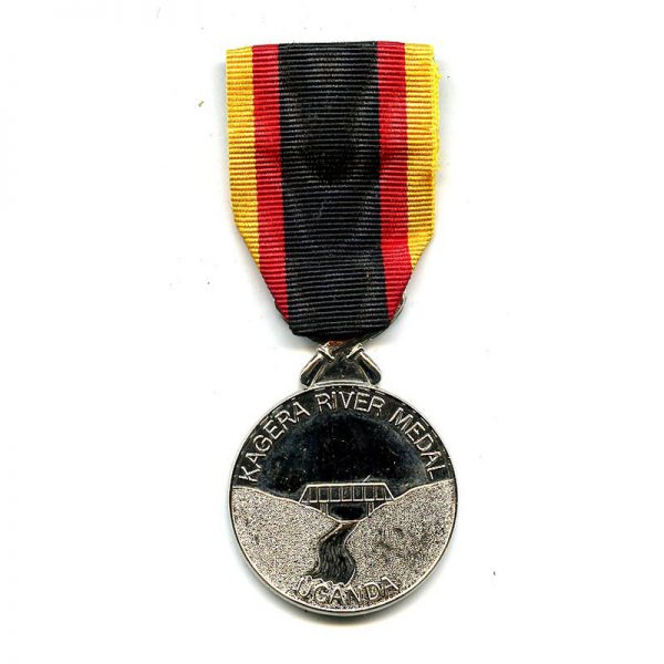 Kagera River Medal silver by Spink 1