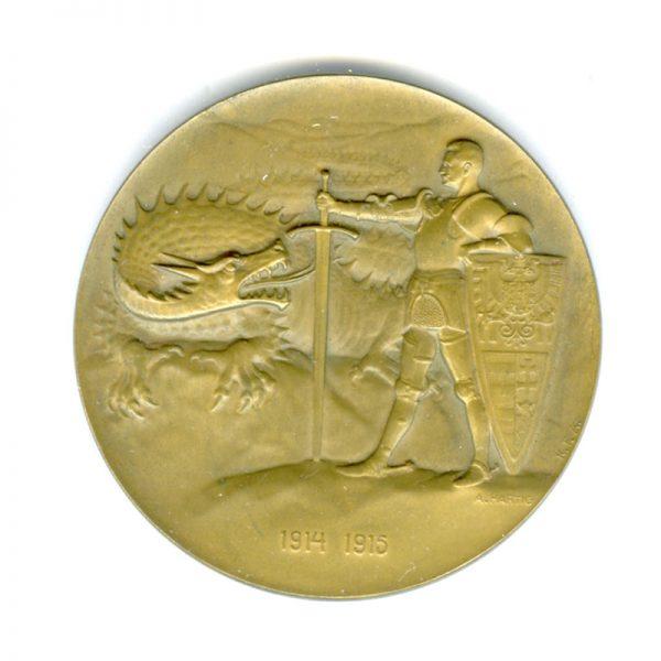 Conrad Von Hotzendorf  Medal 1914-1915 2