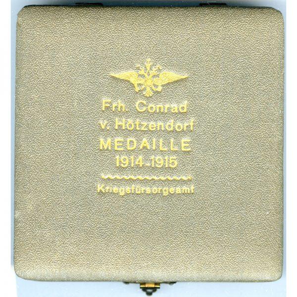 Conrad Von Hotzendorf  Medal 1914-1915 3