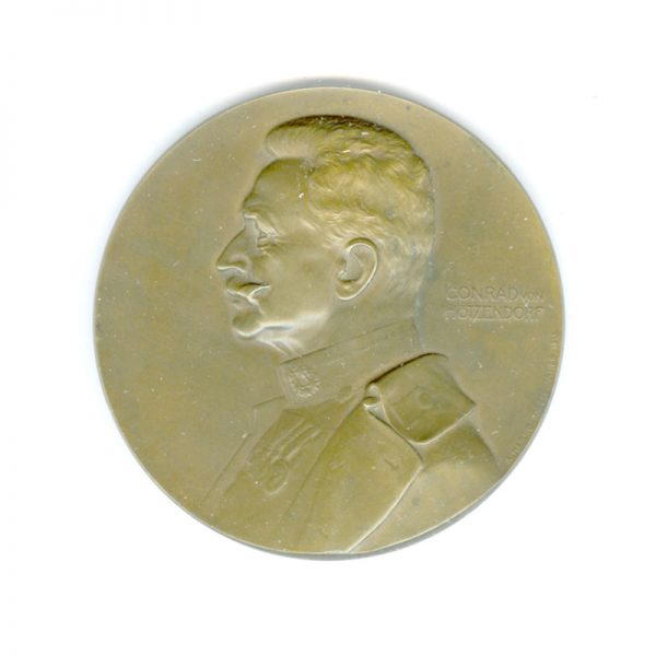 Conrad Von Hotzendorf  Medal 1914-1915 1