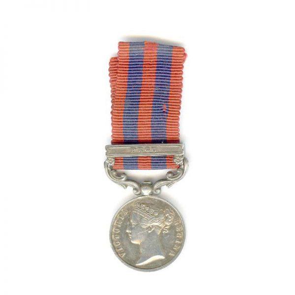 I.G.S. 1854 bar Pegu(L22373)  N.E.F. £75 1