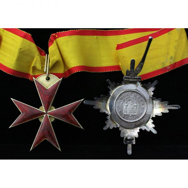 Order of the Griffin Grand Commander neck badge and breast star 2