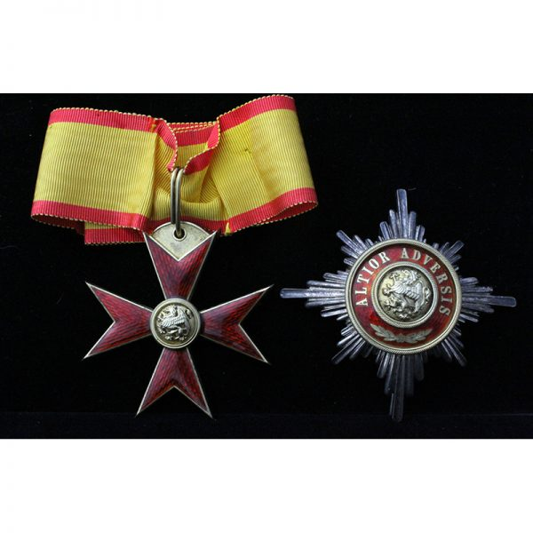 Order of the Griffin Grand Commander neck badge and breast star 1