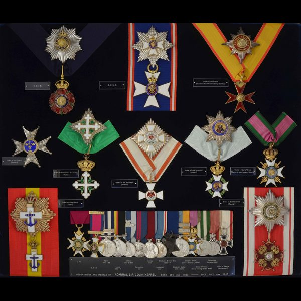 Order of Saxe Ernestine Commander neck badge with Swords 4